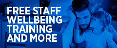 Free staff wellbeing training